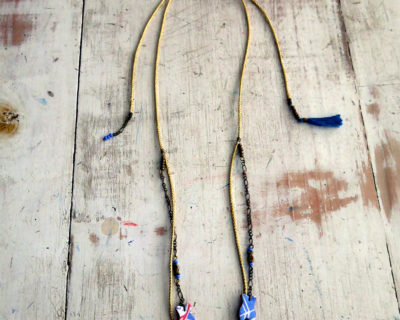 Collier / headband poisson